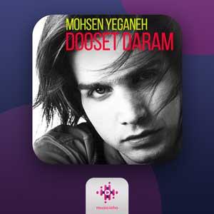 دانلود آهنگ محسن یگانه دوست دارم من دیوونه + متن کامل